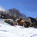 Koliba Winter terace